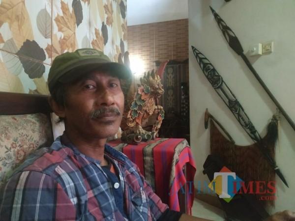Sejarawan sekaligus Dosen jurusan Sejarah Universitas Negri Malanh, Dwi Cahyono (foto: Mariano Gale/ Jatim Times)