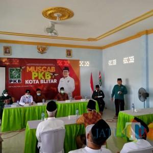 Muscab PKB Kota Blitar, Yasin Ajak Kader Berkhidmad untuk NU dan Masyarakat