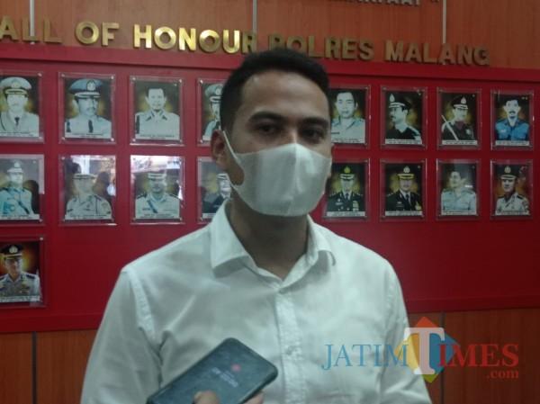 Kasat Reskrim Polres Malang AKP Tiksnarto Andaru Rahutomo. (Foto: Hendra Saputra/MalangTIMES)