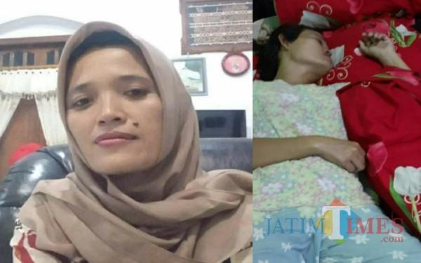 Linda Hudarwati yang dikabarkan hilang ditemukan di Surabaya. / Foto : Istimewa / Tulungagung TIMES