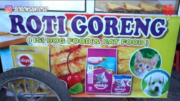 Roti kucing dan anjing untuk manusia (Foto: YouTube The Santoso)
