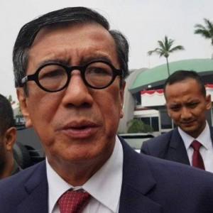 Dualisme Demokrat Kian Panas, Yasonna Laoly Beri Pesan ini Untuk SBY & AHY