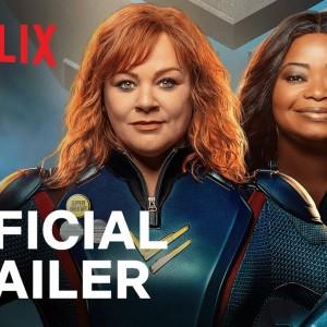 Trailer Thunder Force Resmi Rilis, Tampilkan Aksi Duo Wanita Superhero Kocak