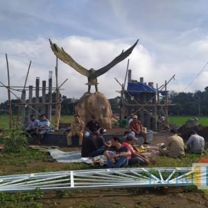 Pasren Garuda Wates Mulai Dibangun, Diawali Metri dan Diharapkan Jadi Wisata Edukasi