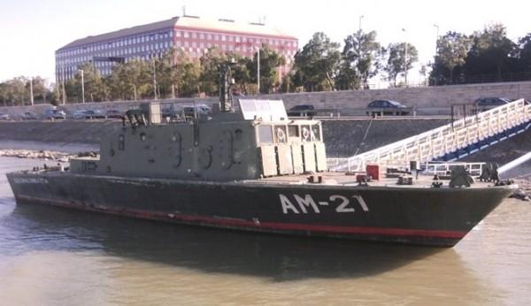 Kapal perang. (Foto: Boombastis.com)