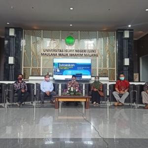 Kontestasi Rektor Telah Tiba, UIN Malang Launching Website Informasi Penjaringan Bacarek