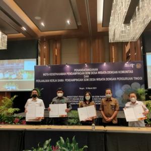 Terus Genjot Desa Wisata di Masa Pandemi, ASIDEWI Tour Keliling Nusantara