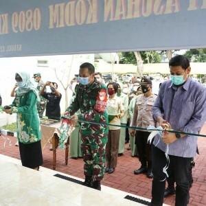 Kodim 0809 Kediri Bangun Panti Asuhan, Wali Kota Kediri Berikan Apresiasi