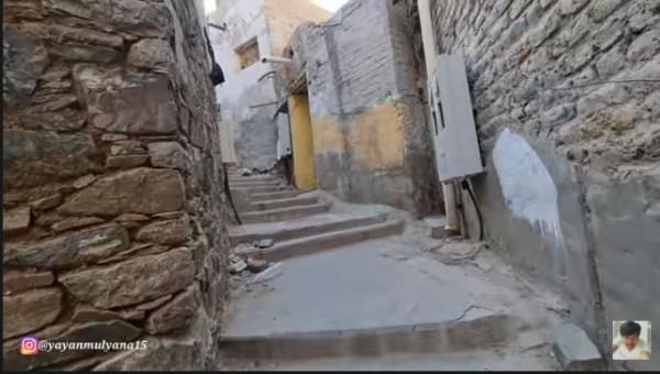 Perkampungan Abu Jahal (Foto: YouTube Alman Mulyana)