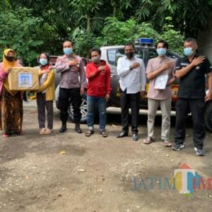 Bentuk Kepedulian, Polres Beri Bantuan Mahasiswa  Papua di Tulungagung