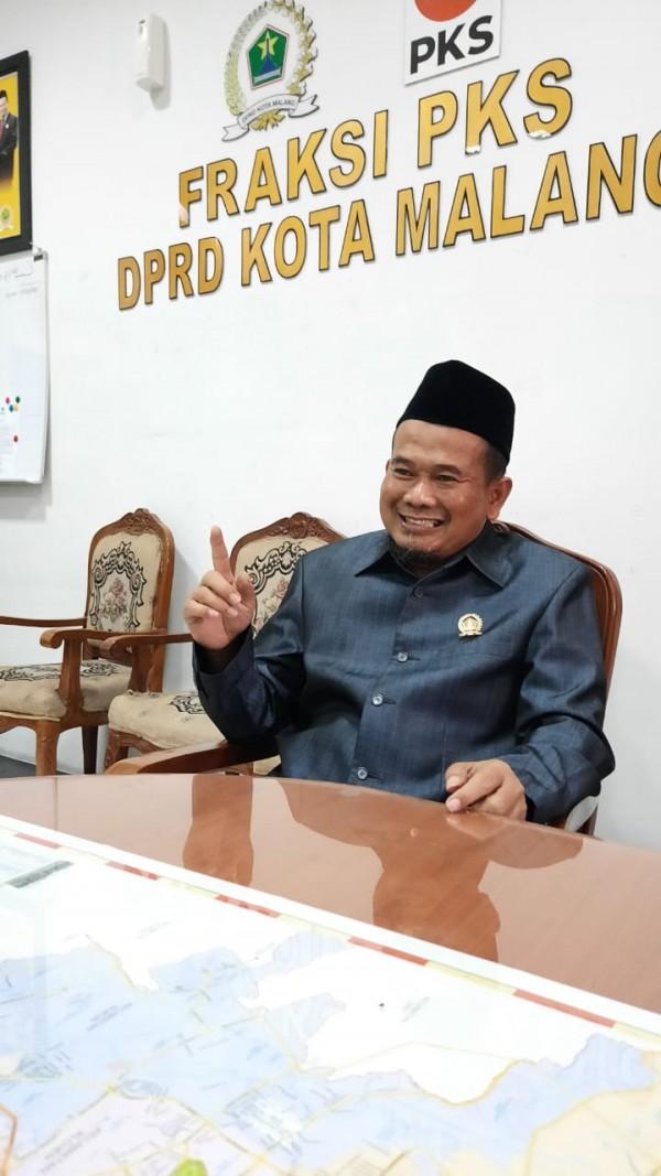 Wakil Ketua Fraksi PKS Kota Malang yang juga Sekretaris Komisi D DPRD Kota Malang, H Rokhmad (Ist)