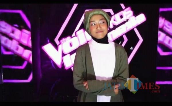 Diajeng Roro Sekartaji (Foto: The Voice Kids Indonesia)
