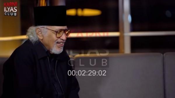 Prof Salim Said (Foto: YouTube Karni Ilyas)