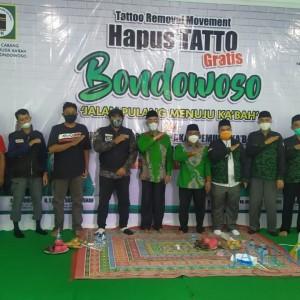 Gerakan Hapus Tato oleh GPK Diapresiasi Bupati Bondowoso