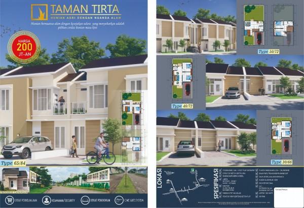 Perumahan Taman Tirta, perumahan berlokasi begitu strategis di Malang (Ist)