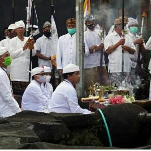 Rayakan Nyepi di Tengah Pandemi, Umat Hindu Kota Batu Tiadakan Pawai Ogoh-Ogoh