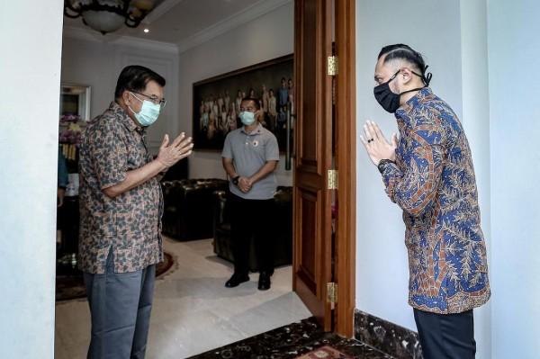 AHY dan JK (Foto: Instagram agusyudhoyono)
