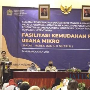 Dorong Kemajuan Usaha Mikro, Diskopindag Kota Malang Fasilitasi Kemudahan Perizinan