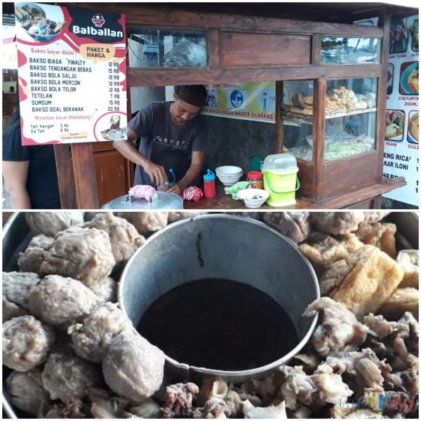 Kuliner Bakso Balballan di Surabaya