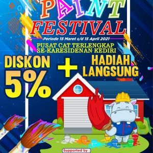 Pusatnya Cat Terlengkap, Graha Bangunan Gelar Paint Festival