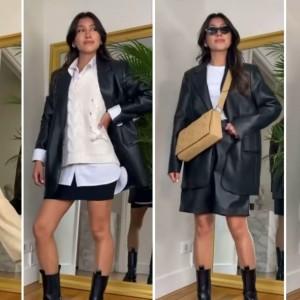 Ciptakan Berbagai Tampilan Lebih Modis Hanya Menggunakan Leather Blazer