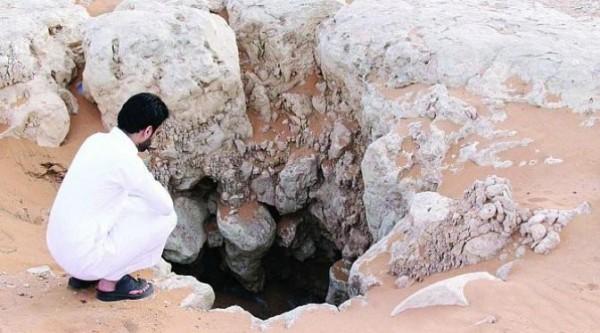 Sumur di Kota Laynah yang konon dibangun oleh pasukan jin Nabi Sulaiman (Foto: Istimewa).