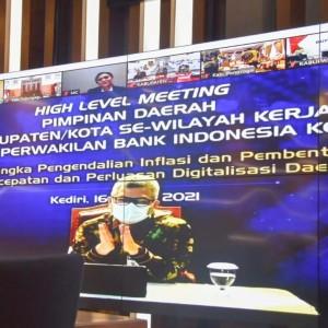 Wali Kota Kediri Mas Abu: Inflasi Terkendali, Investor Datang untuk Berinvestasi