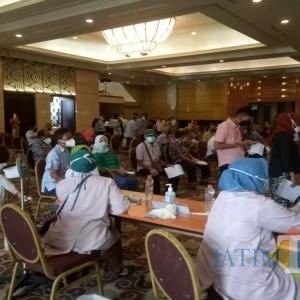 Istimewa, Mantan Pejabat di Tulungagung Dapat Suntikan Vaksin Covid-19 di Hotel Mewah