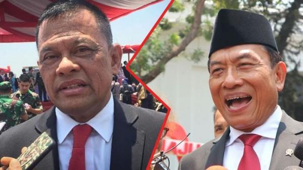 Gatot Nurmantyo dan Moeldoko (Foto: IST)