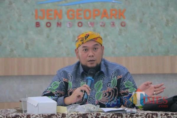 Ketua PD AMPG Bondowoso Yondrik, S. H