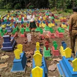 Tak Cuma di Madiun, Makam Warna-warni Kini Juga Ada di Ponorogo, Jauh dari Kesan Seram