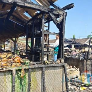 Kebakaran Pasar Campurdarat, Kerugian Ditaksir Capai Rp 500 Juta