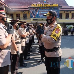 Kapolres Lumajang Eka Mutasi Sejumlah Perwira, Wakapolres Pindah ke Polda Jatim