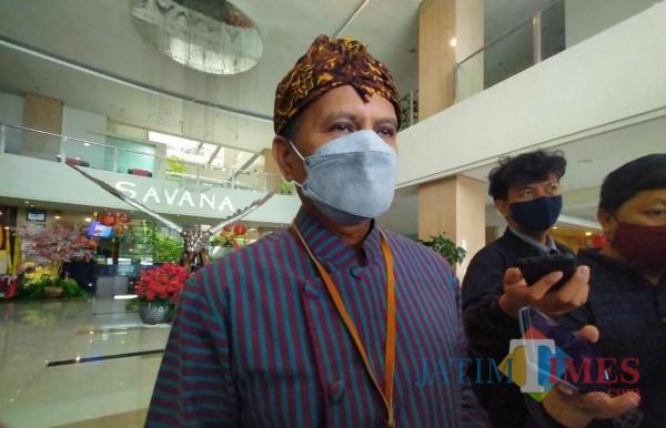 Kepala DLH Kota Malang, Wahyu Setianto (foto: Anggara Sudiongko/MalangTIMES)