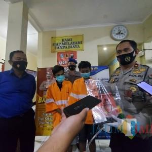 2 Pemuda Pemakai Sabu-Sabu Diamankan Petugas