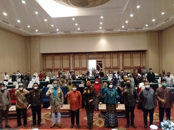 Suasana sosialisasi Penyadaran Pemuda terhadap HIV/AIDS dan Narkoba di Era New Normal, Kamis (18/3/2021). (Foto: Humas Pemkot Malang for MalangTIMES).