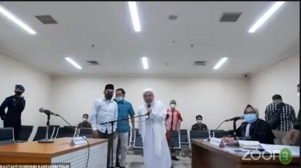 Habib Rizieq (Foto: YouTube PN Jaktim)
