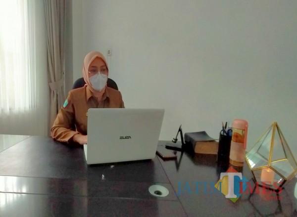 Kepala Bidang Kebudayaan, Dr Dian Kuntari S STP M Si (Anggara Sudiongko/MalangTIMES)