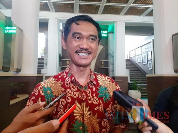 Kepala Dinas Komunikasi dan Informatika (Diskominfo) Kota Malang, M Nur Widianto. (Arifina Cahyanti Firdausi).