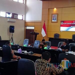 Studi Banding Perkembangan Wisata di Era New Normal, DPRD Lamongan Kunjungi Kota Blitar