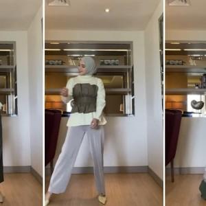 Tips Penggunaan Basic Outfit Jadi Busana Lebih Modis ala Hijabers Tiqasya