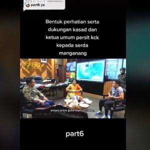 """Viral Momen Haru """"Wanita Tentara"""" Diberi Nama """"Lanang"""" oleh Istri KSAD Andika"""