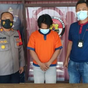 Suka Pakai Sabu Biar tidak Loyo, Pria ini Ditangkap Polsek Dukun