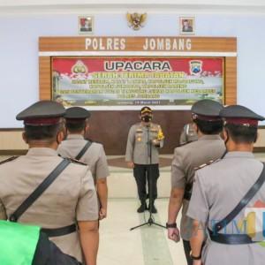 Pejabat Polres Jombang Berganti, Kapolres Beri Tantangan Baru