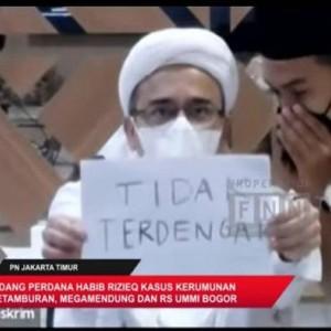 Sidang Habib Rizieq Kembali Digelar Virtual Hari Ini, Walk Out Lagi?