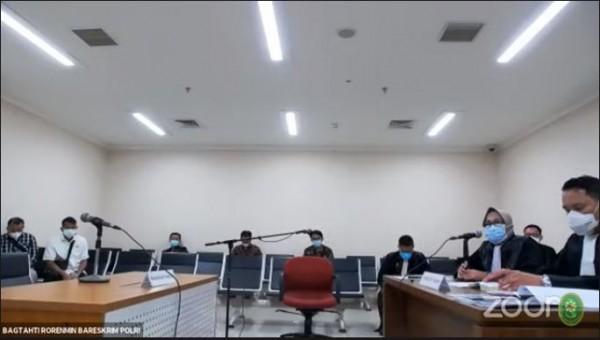 Sidang Habib Rizieq (Foto: YouTube PN Jakarta Timur)