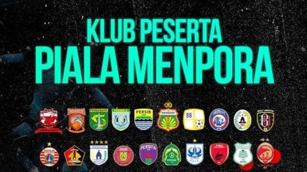 Tim peserta Piala Menpora 2021 (foto: istimewa)