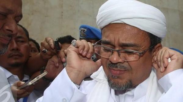 Habib Rizieq (Foto: Merdeka.com)