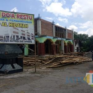 Disebut Serobot Tanah, Pembangunan Masjid di Jombang Dipolisikan