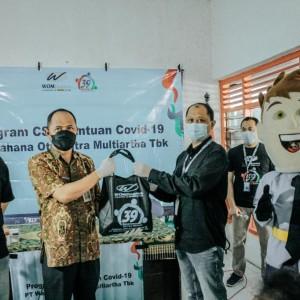 Jelang HUT, WOM Finance Salurkan Bantuan Pandemi Covid-19 di Wilayah Zona Merah
